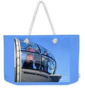 Eying London Weekender Tote Bag