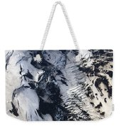 Eyjafjallajokull And The Glacier Weekender Tote Bag