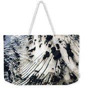 Eyjafjallajokull Glacier And Ashes Weekender Tote Bag