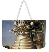 F-1 Rocket Engine Weekender Tote Bag