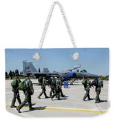 F-15 Pilots Of The 48th Fighter Wing Weekender Tote Bag