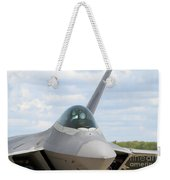 F-22 Raptor Lockheed Martin Air Force Weekender Tote Bag