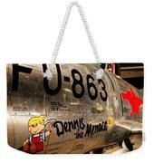 F-86d Sabre Dennis The Menace Weekender Tote Bag