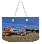 F-86h Sabre Weekender Tote Bag