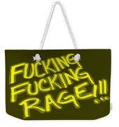 F F R Yellow Weekender Tote Bag