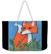 F Is For Fox Weekender Tote Bag