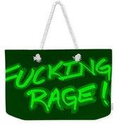 F R Green Weekender Tote Bag
