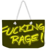 F R Yellow Weekender Tote Bag