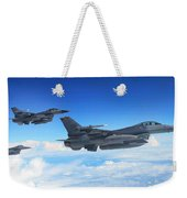 F16 Fighting Falcons Weekender Tote Bag