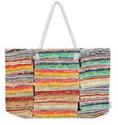 Fabric Colours Weekender Tote Bag by Tom Gowanlock