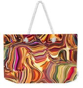 Fabric Fair Weekender Tote Bag