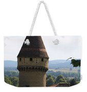 Fabry Tower - Cluny - Burgundy Weekender Tote Bag