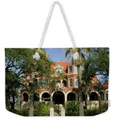 Facade Of A Museum, Moody Mansion Weekender Tote Bag