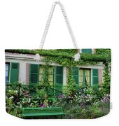Facade Of Claude Monets House, Giverny Weekender Tote Bag
