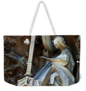 Facade Of Sagrada Familia Weekender Tote Bag