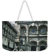 Facade Of The Silverware In Santiago De Compostela Weekender Tote Bag