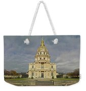 Facade Of The St-louis-des-invalides Weekender Tote Bag