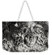 Face Carved In Stone Weekender Tote Bag