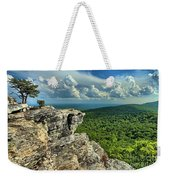 Face In The Cliff Weekender Tote Bag