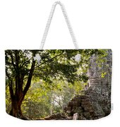Face In The Forest 01 Weekender Tote Bag