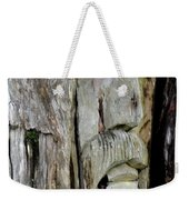Face In The Forest Weekender Tote Bag