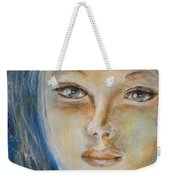 Face Of An Angel Weekender Tote Bag