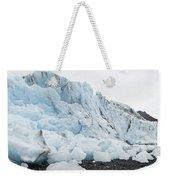 Face Of Bryn Mawr Glacier Weekender Tote Bag