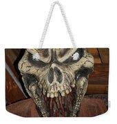 Face Of Death Weekender Tote Bag