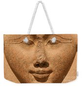 Face Of Hathor Weekender Tote Bag