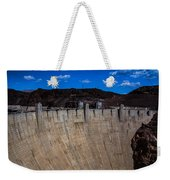 Face Of The Dam Weekender Tote Bag