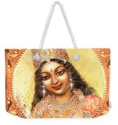 Face Of The Goddess - Lalitha Devi  Weekender Tote Bag
