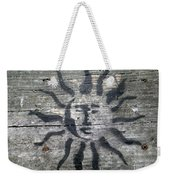 Face Of The Sun Weekender Tote Bag