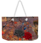 Face The Thorns  Weekender Tote Bag