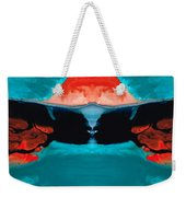 Face To Face - Abstract Art By Sharon Cummings Weekender Tote Bag