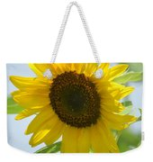 Face To Face With A Sunflower Weekender Tote Bag