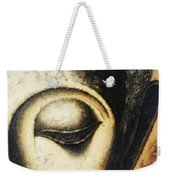 Face Water Color Weekender Tote Bag