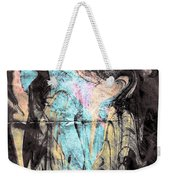 Faceless Girl With Her Crow Weekender Tote Bag