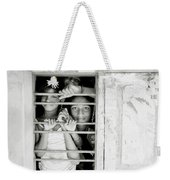 Faces At The Window Weekender Tote Bag