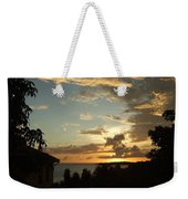 Faces In The Clouds Weekender Tote Bag