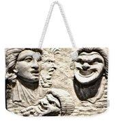 Faces Of Pompeii Weekender Tote Bag