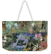 Faces Of Rebirth Weekender Tote Bag