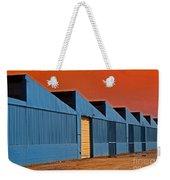 Factory Building Weekender Tote Bag