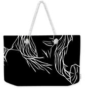 Fade To Gray Weekender Tote Bag