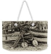 Faded Country Time Banjos Weekender Tote Bag