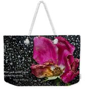 Faded Rose - Youth And Age Weekender Tote Bag
