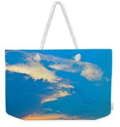 Fading Clouds Weekender Tote Bag