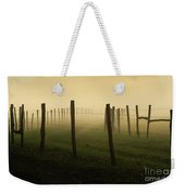 Fading Into The Fog Weekender Tote Bag