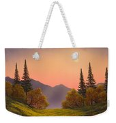 Fading Light Weekender Tote Bag