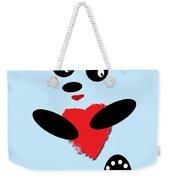 Fading Like A Flower. Panda In Love. 02 Weekender Tote Bag