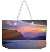 Fading Of The Light Weekender Tote Bag by Edmund Nagele